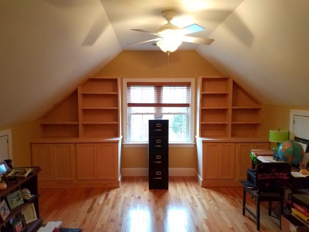 Bonus Room Built-ins