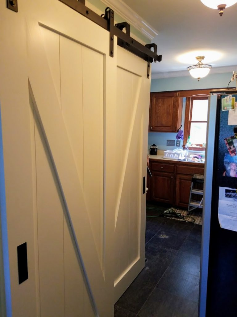 Laundry Barn Doors