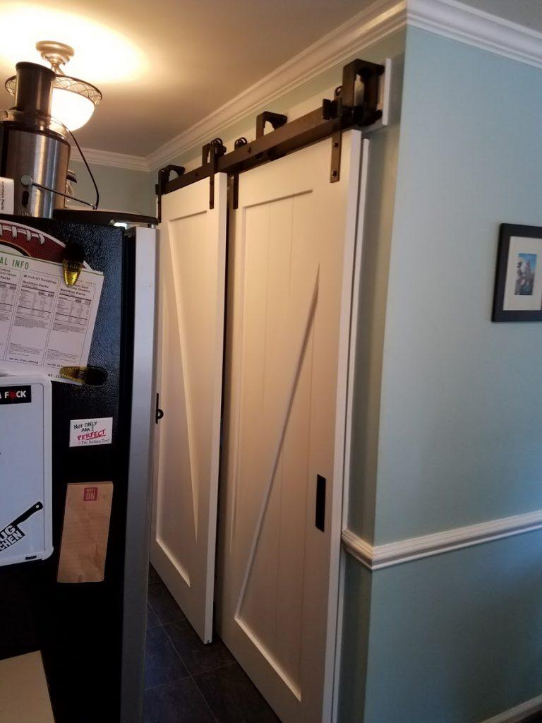 Laundry Barn Doors 2