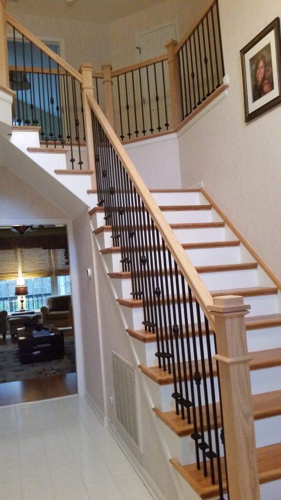 Wake Forest Custom Stairs2