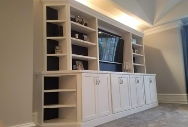 Custom Bedroom Entertainment Center