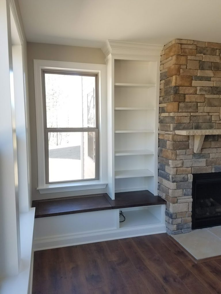 Apex Fireplace Built-ins 2