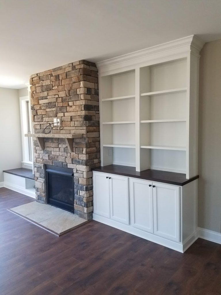 Apex Fireplace Built-ins