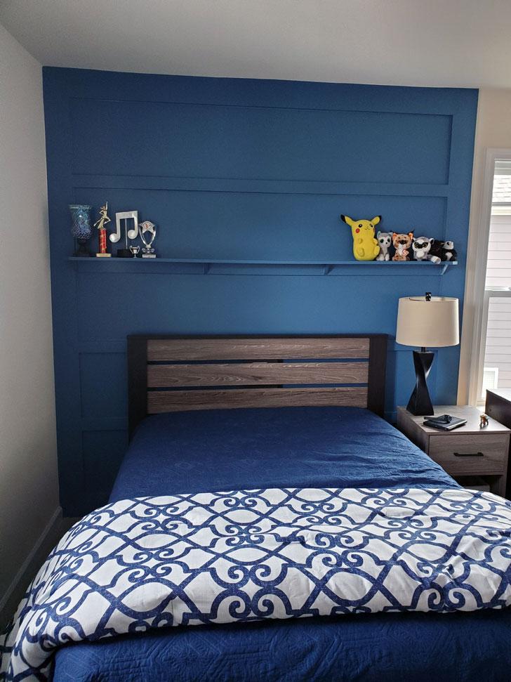 Bedroom-Kids-Accent-Wall