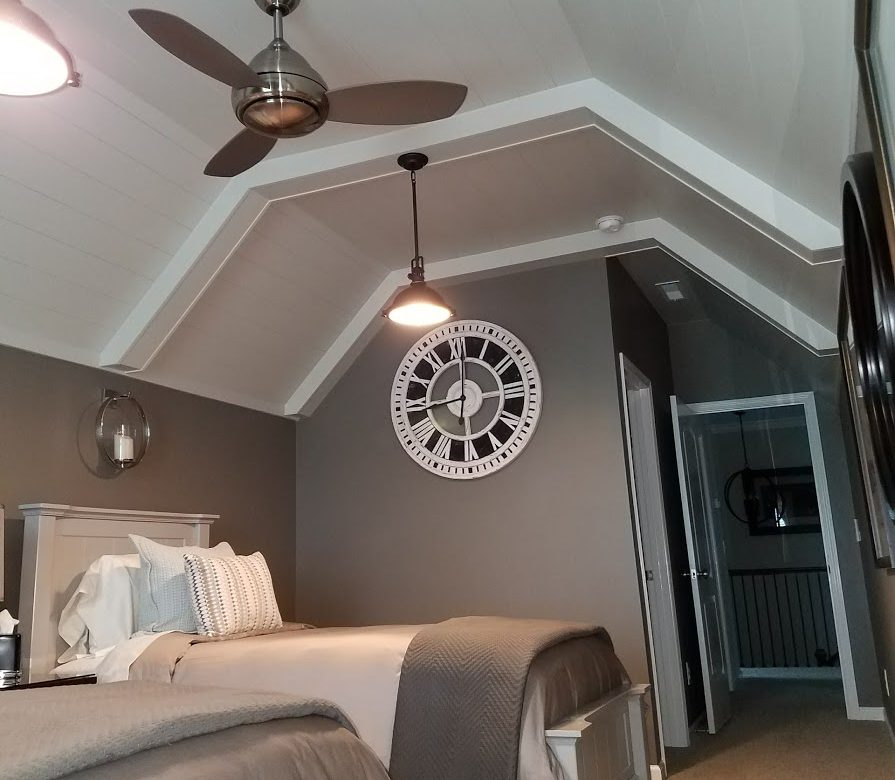 Wake Forest Coffered Ceiling